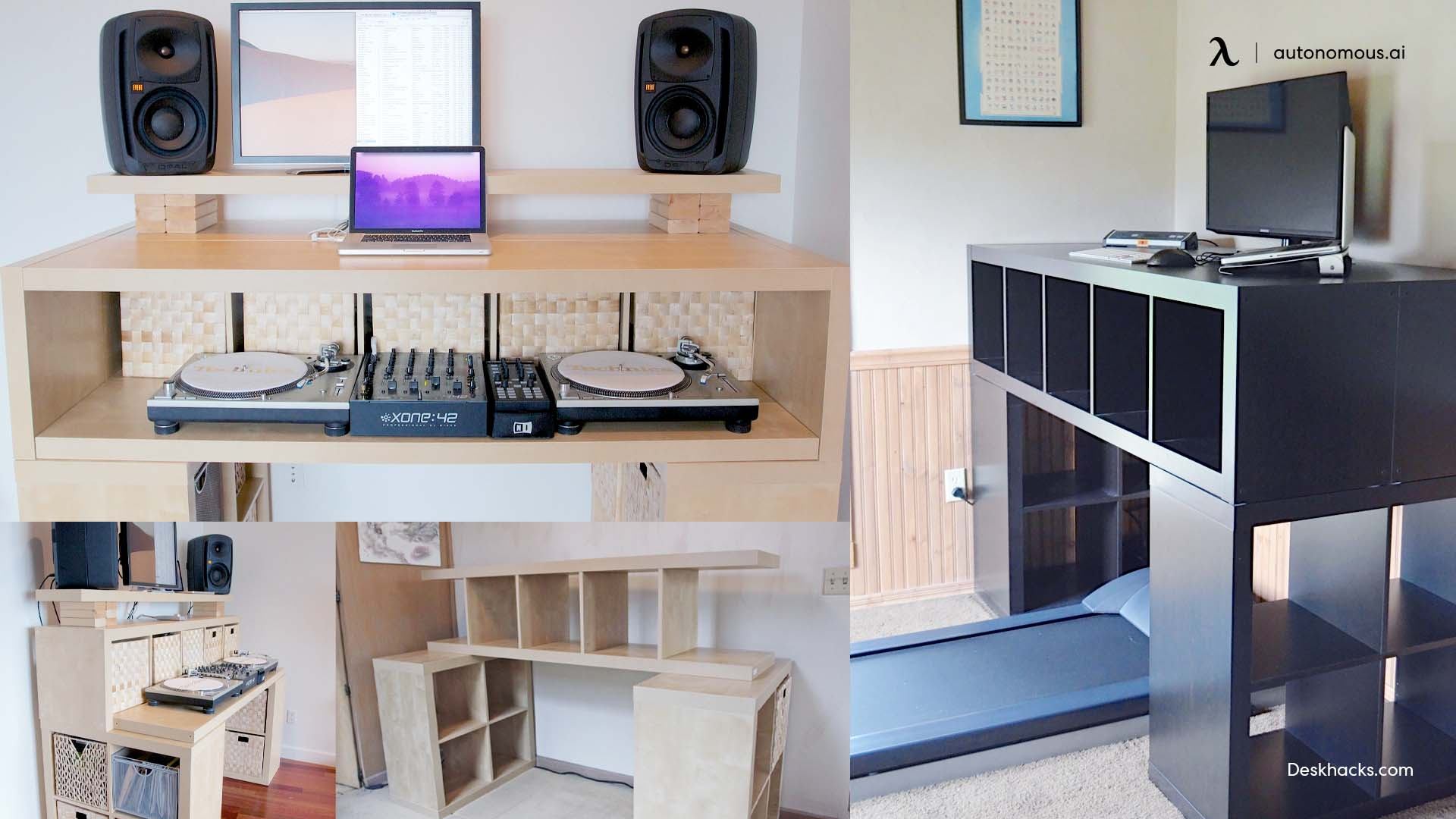 """""""Spaceship"""" DIY Computer Desk"""