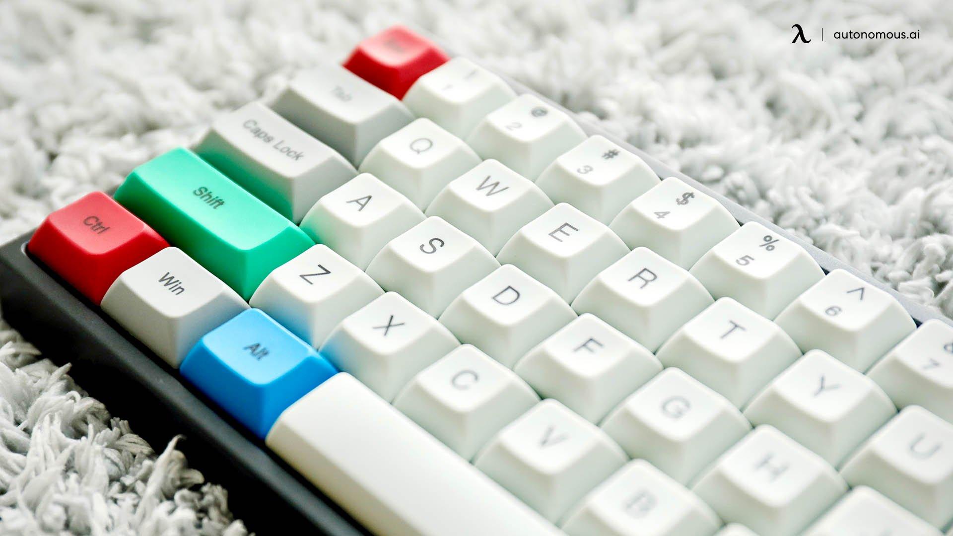 Get a Short mechanical Keyboard