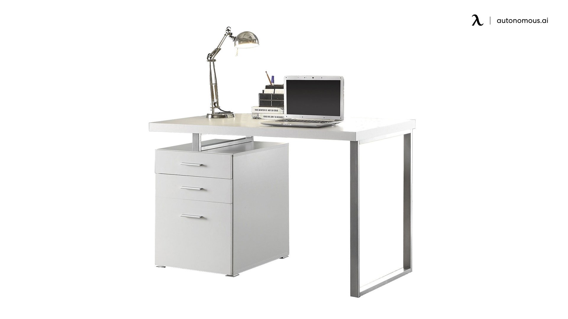 White Office Desk from Coastal Furniture