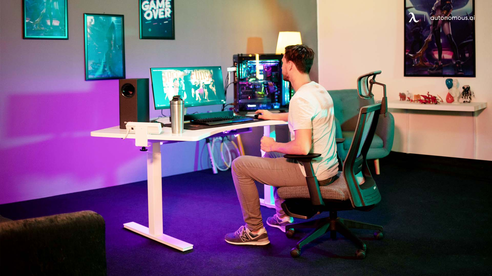 How Should the Gaming Chair Be Set-up to Get the Most of It?