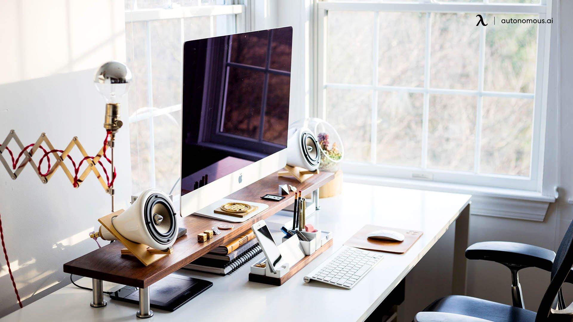 Set Up Desk Near a Window