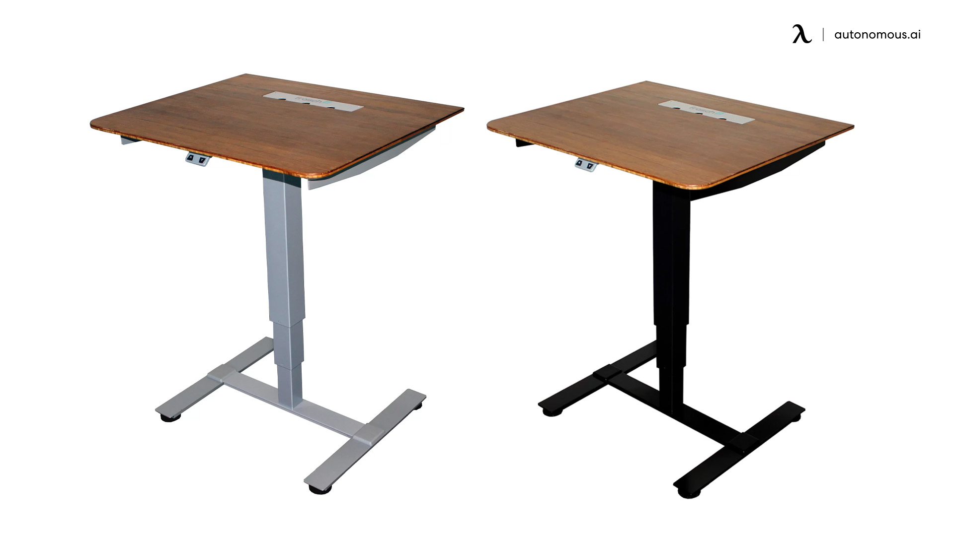 Sit Stand Electric Portable Presentation Standing Desk by Frasch