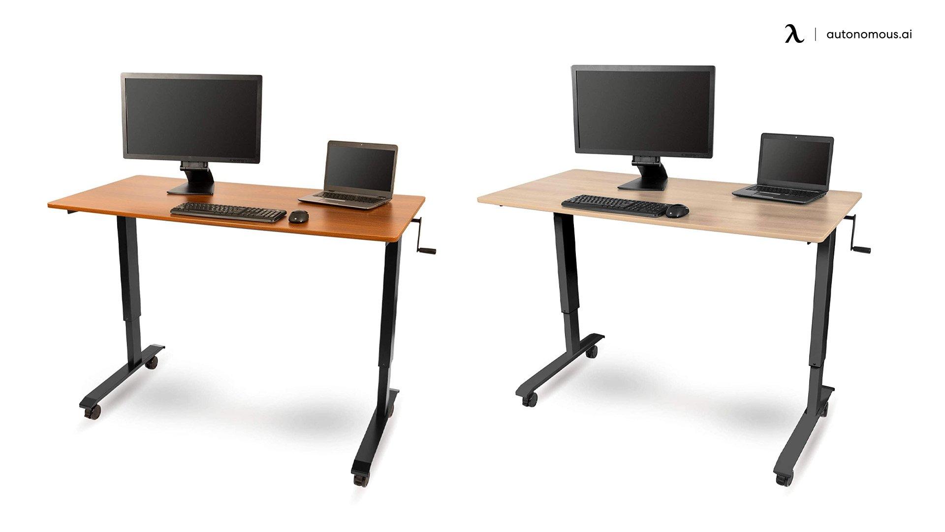 The Crank Adjustable Height Standing Desk