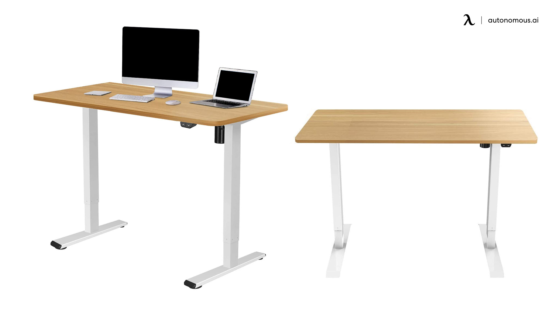 Electric Height Adjustable Standing Desk by Flexispot
