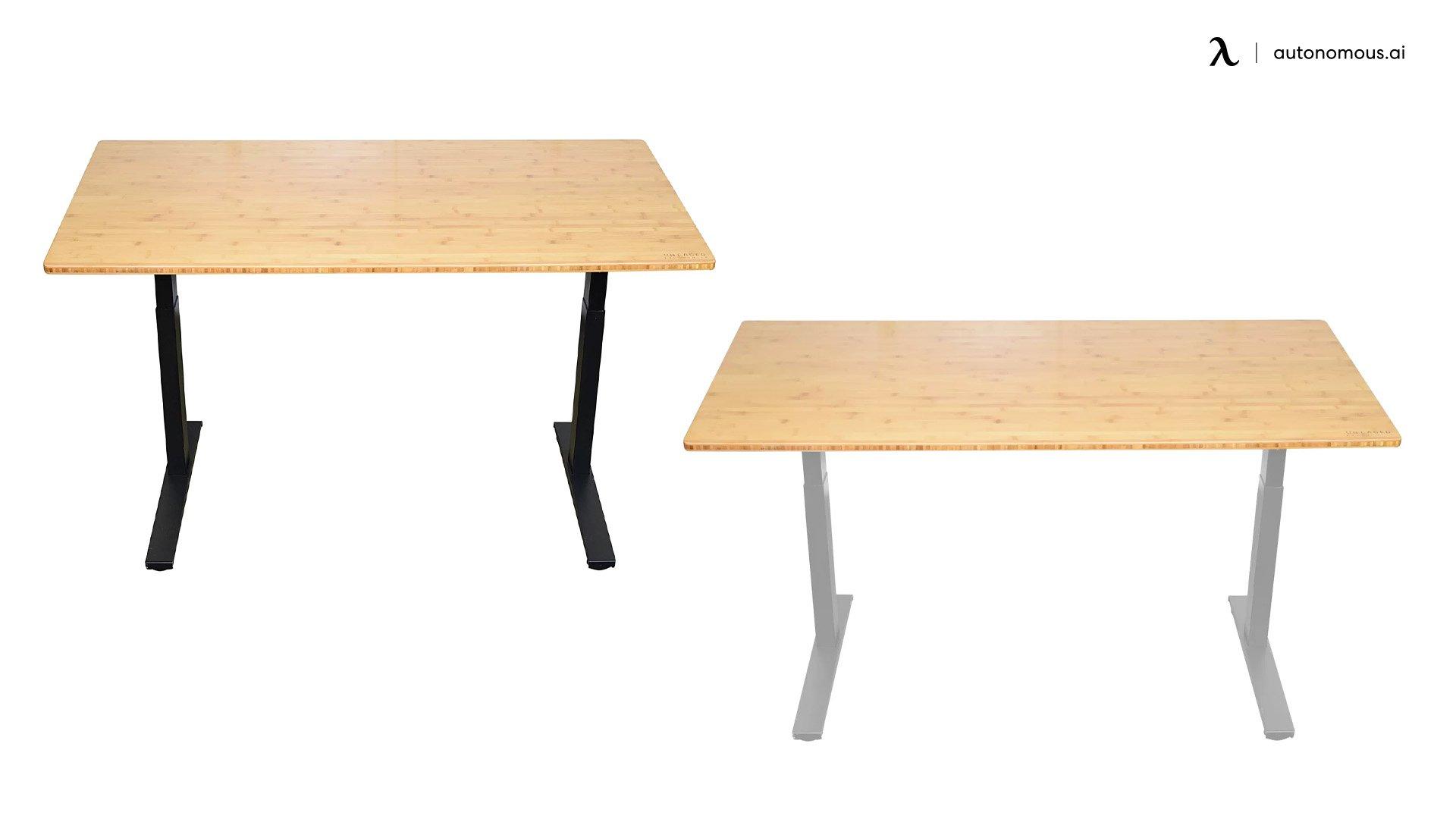 Belpre Dual Motor Adjustable Solid Wood Standing Desk by Symple Stuff