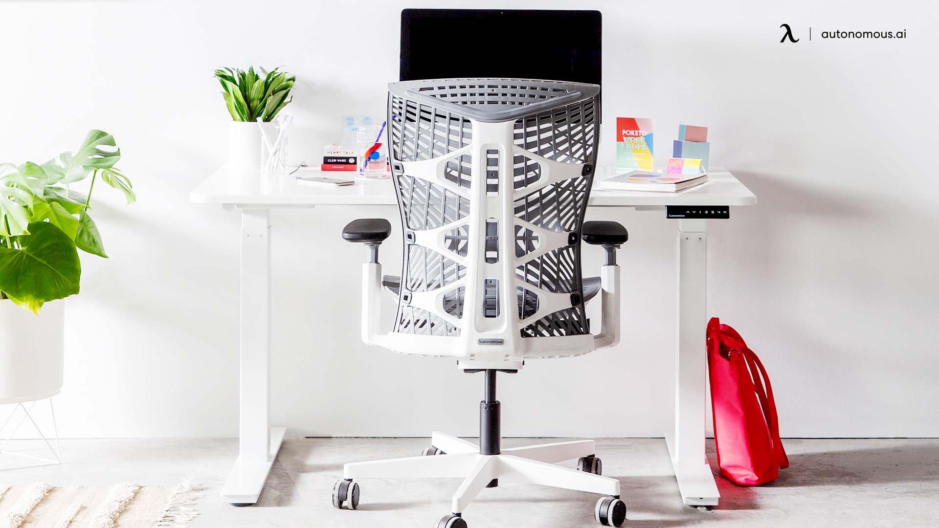 productive desk setup