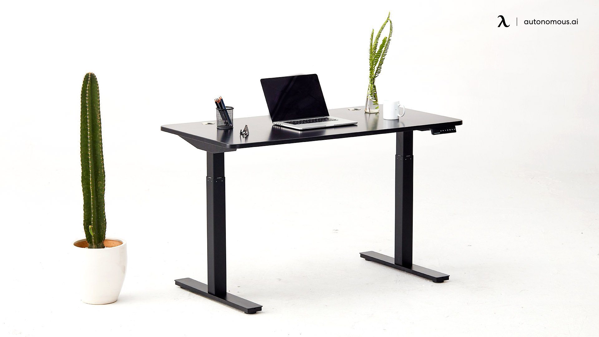 Top Electric Standing Desk with Adjustable Table Legs