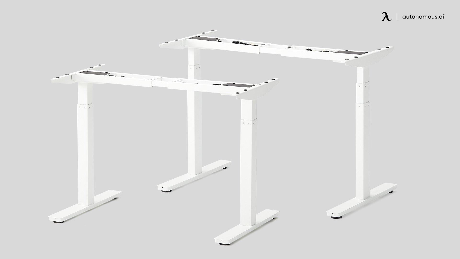 White DIY Desk Frame