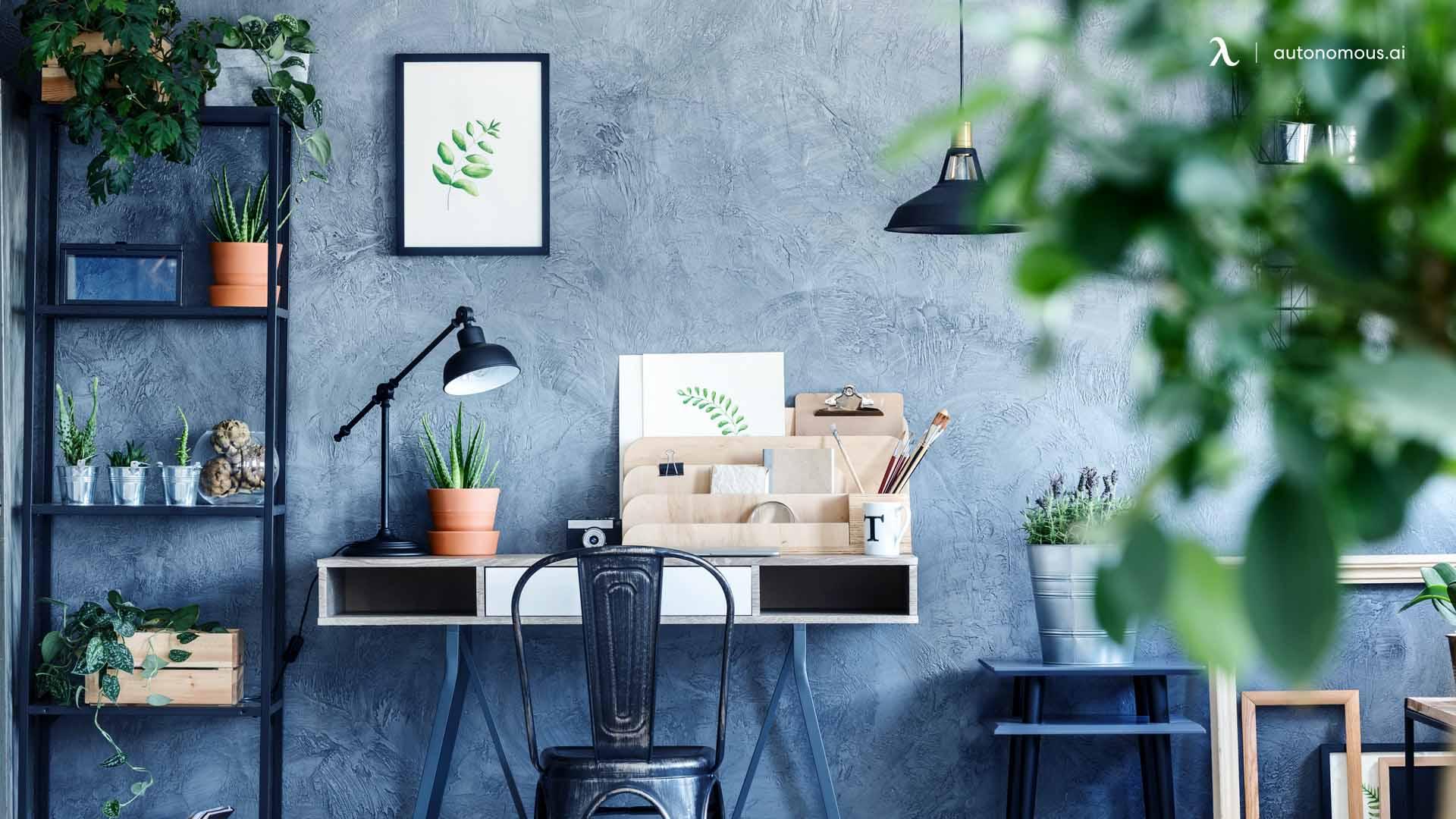 Adopt indoor plants