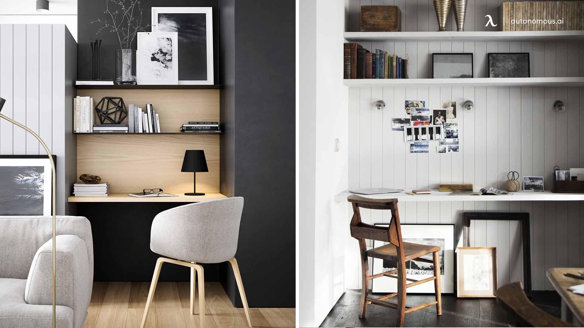 Floating Shelf and Desk