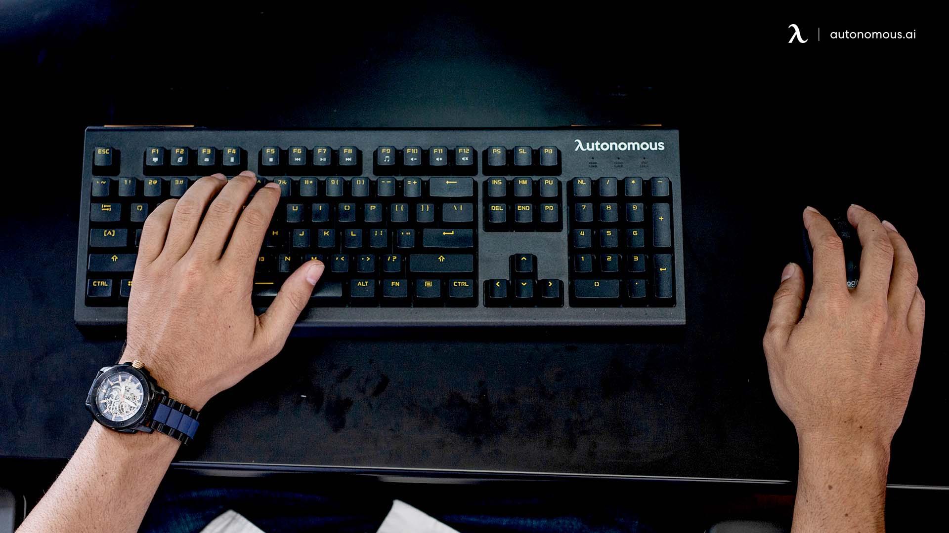 Keyboard Positioning