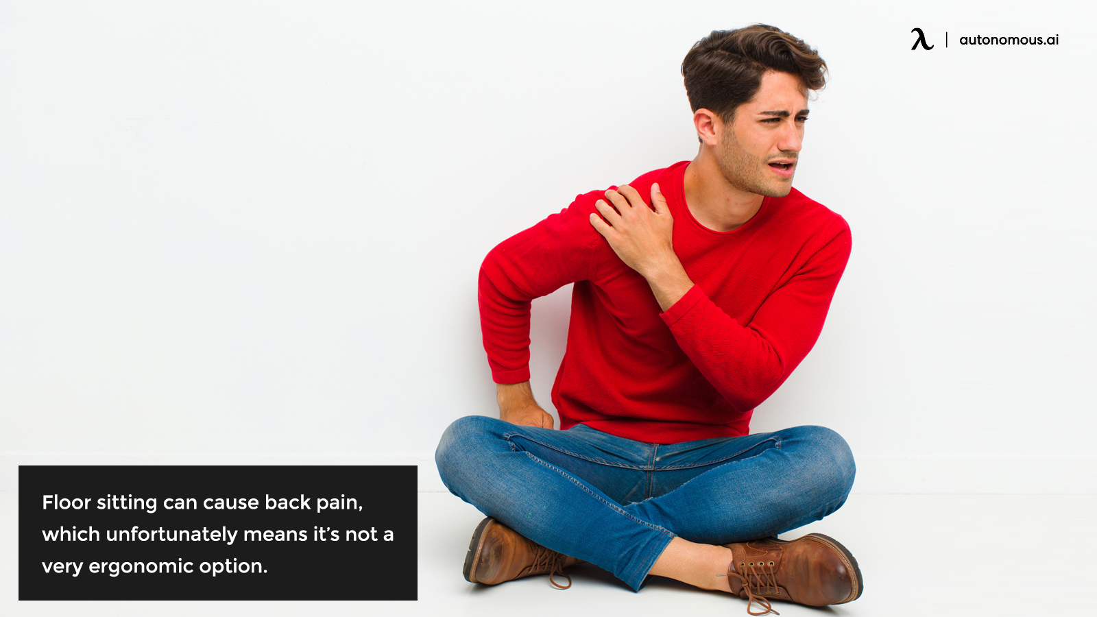 Floor sitting and back pain