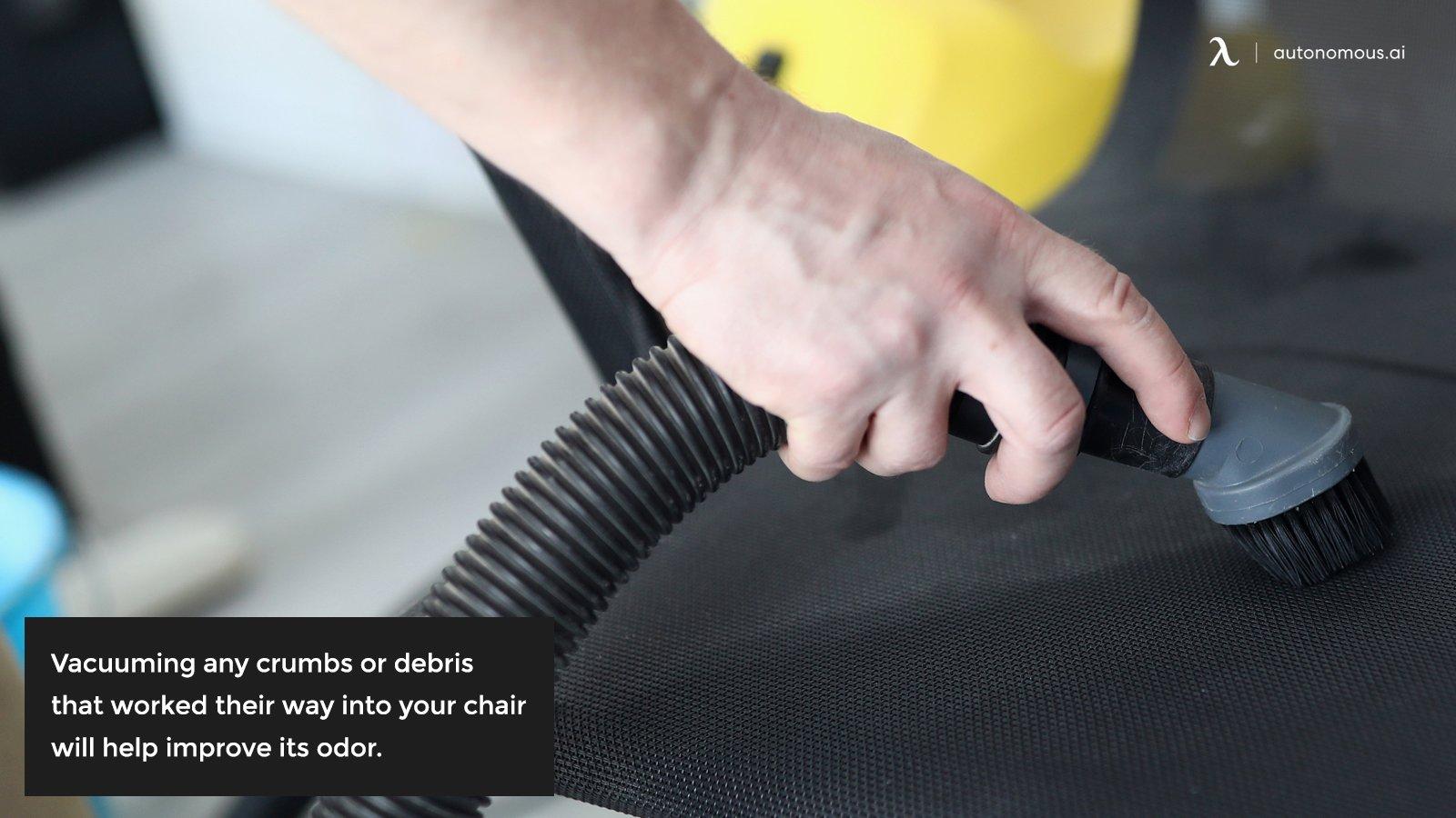 Vacuuming chair