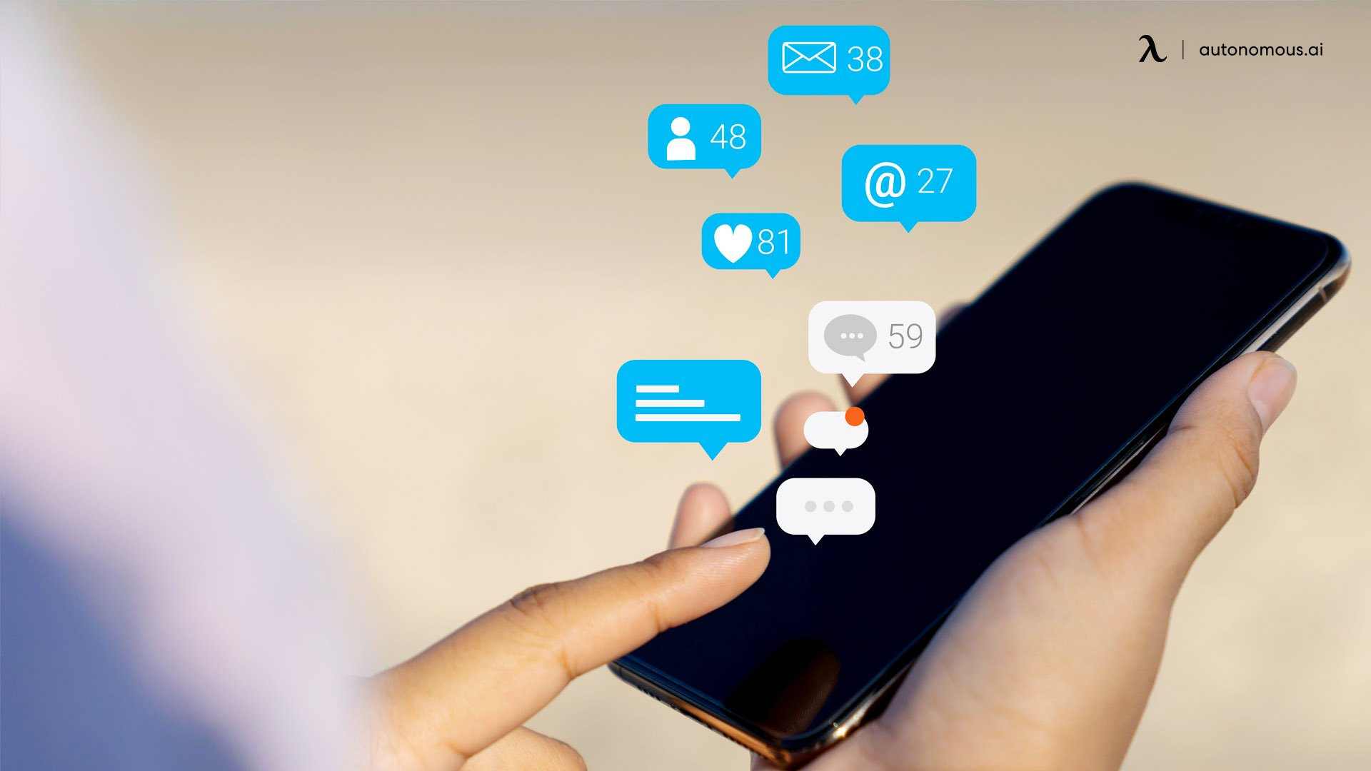 Make Social Calls Throughout the Day