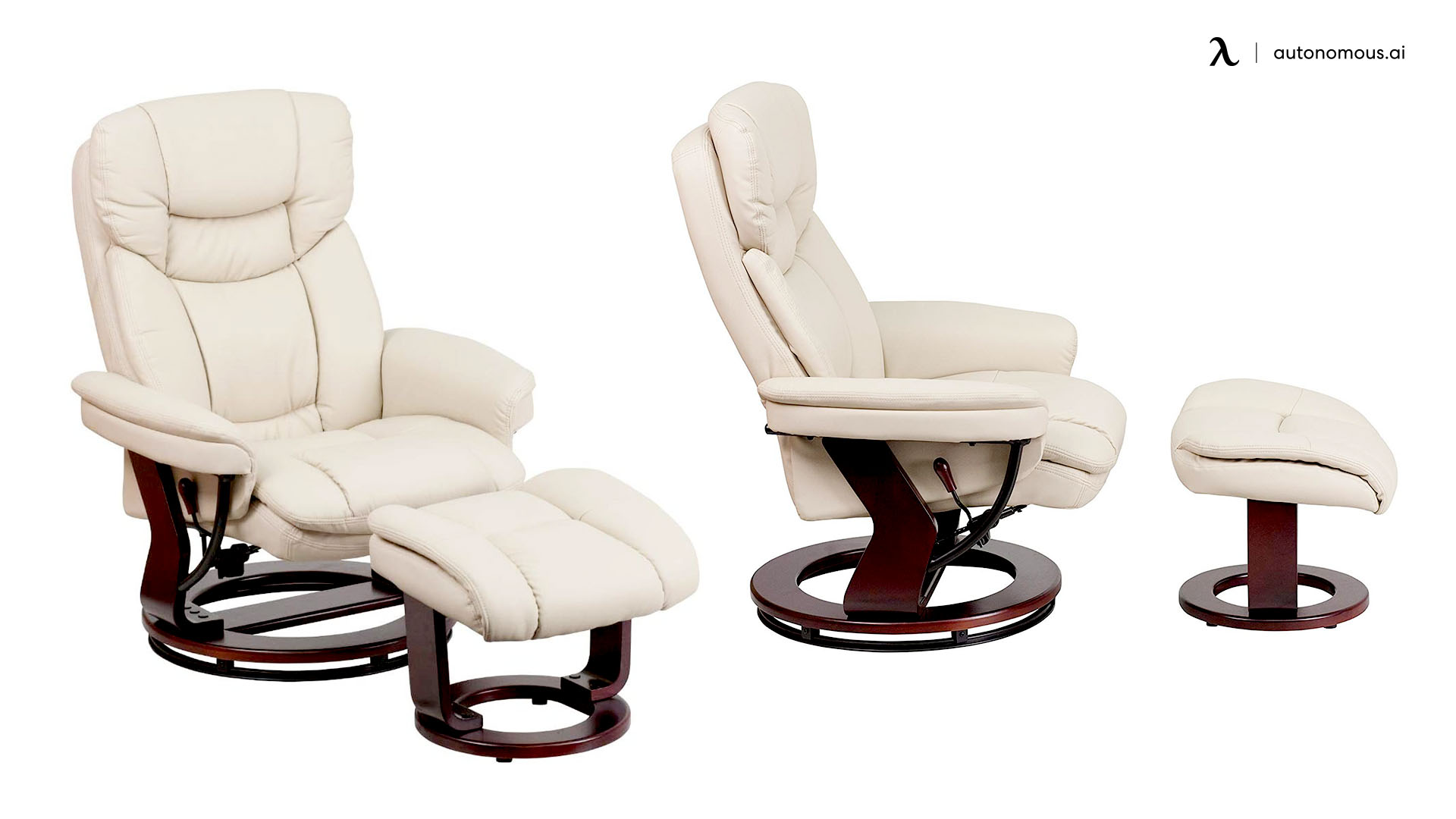 Flash Furniture Recliner with Ottoman