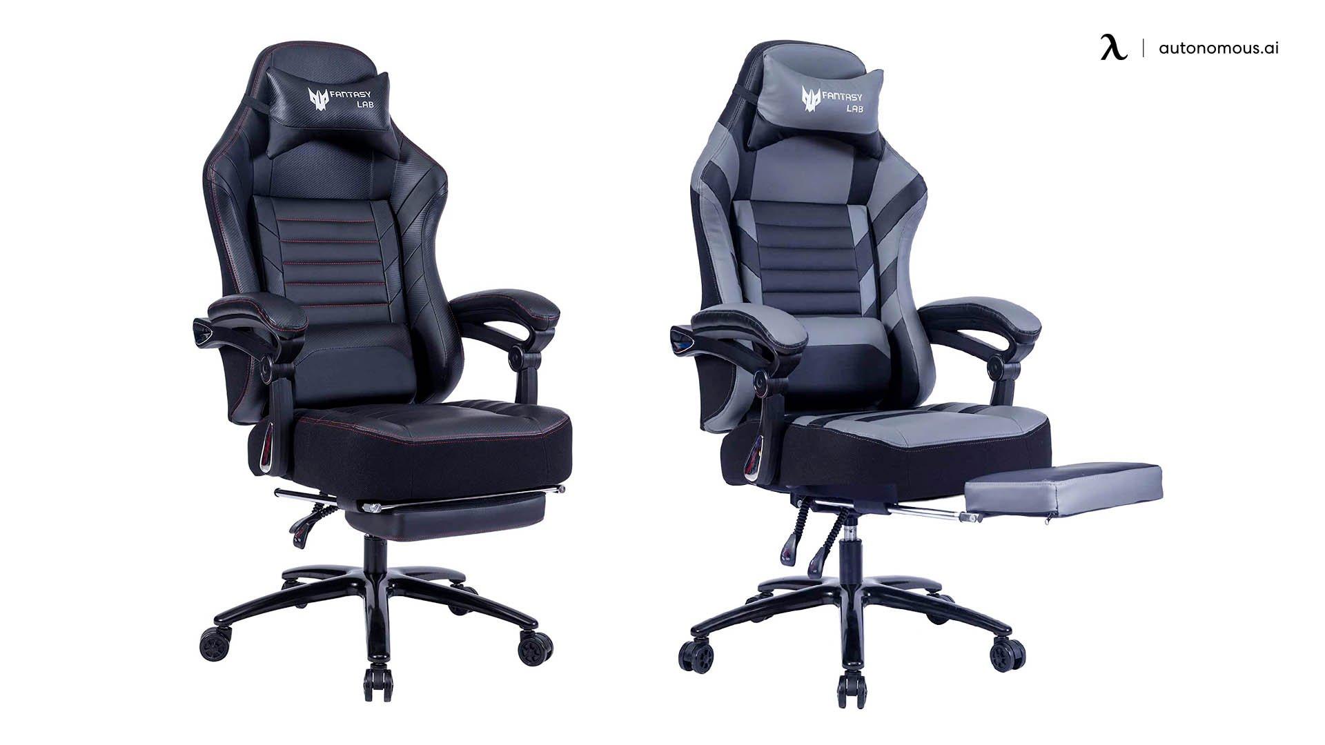 FANTASYLAB Ergonomic Reclining Chair with Footrest