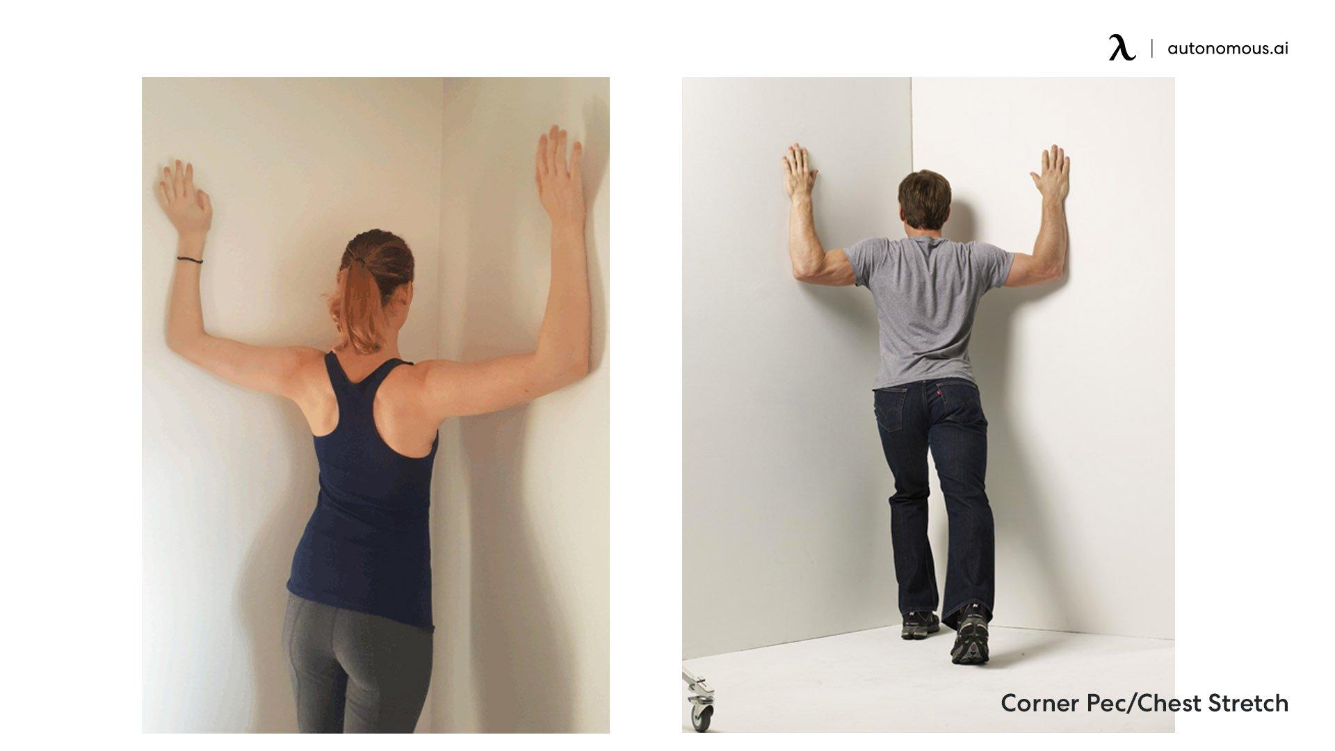 Corner Pec Chest Stretch