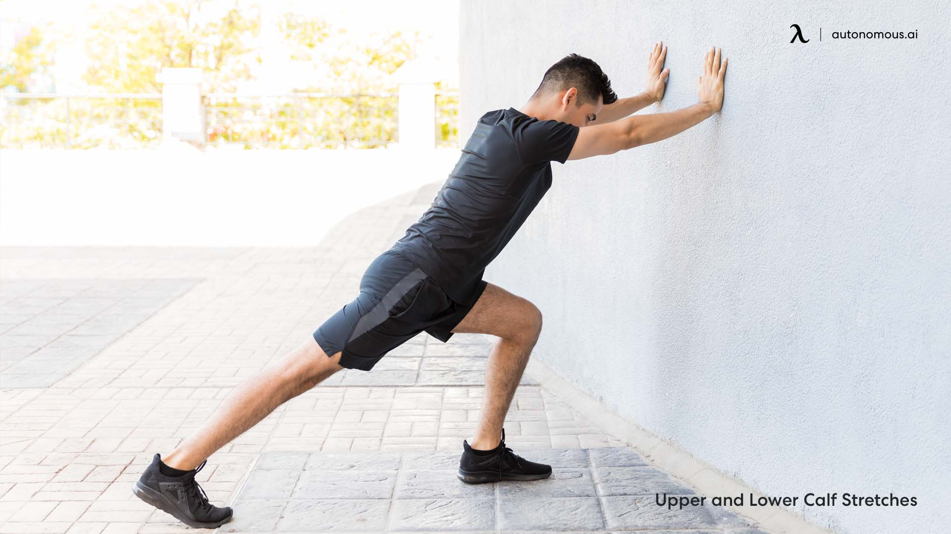 Upper and Lower Calf Stretches