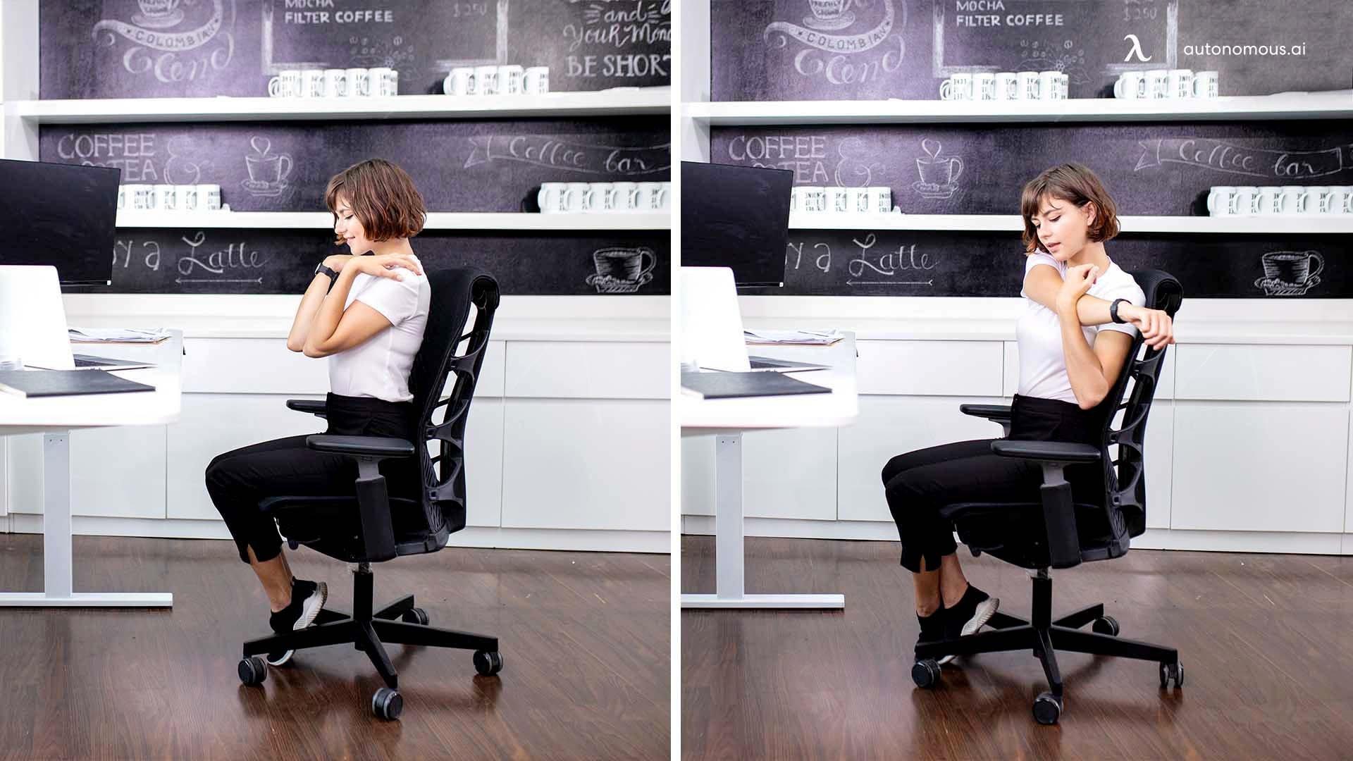 Practice Some Exercises In-Between Work