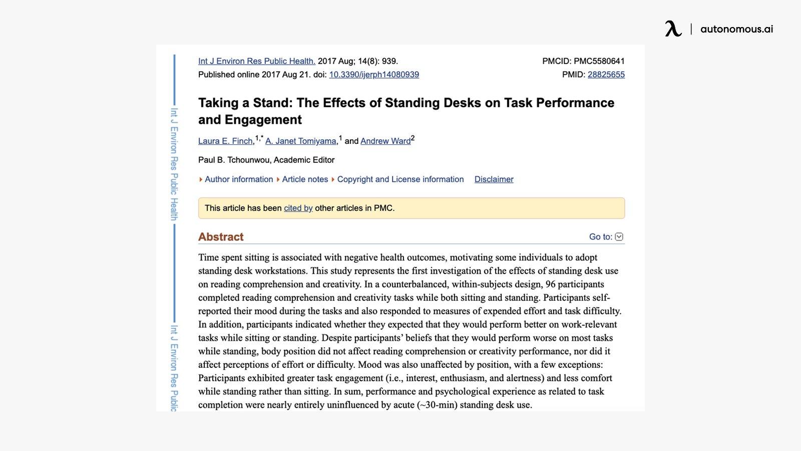 NCBI Study