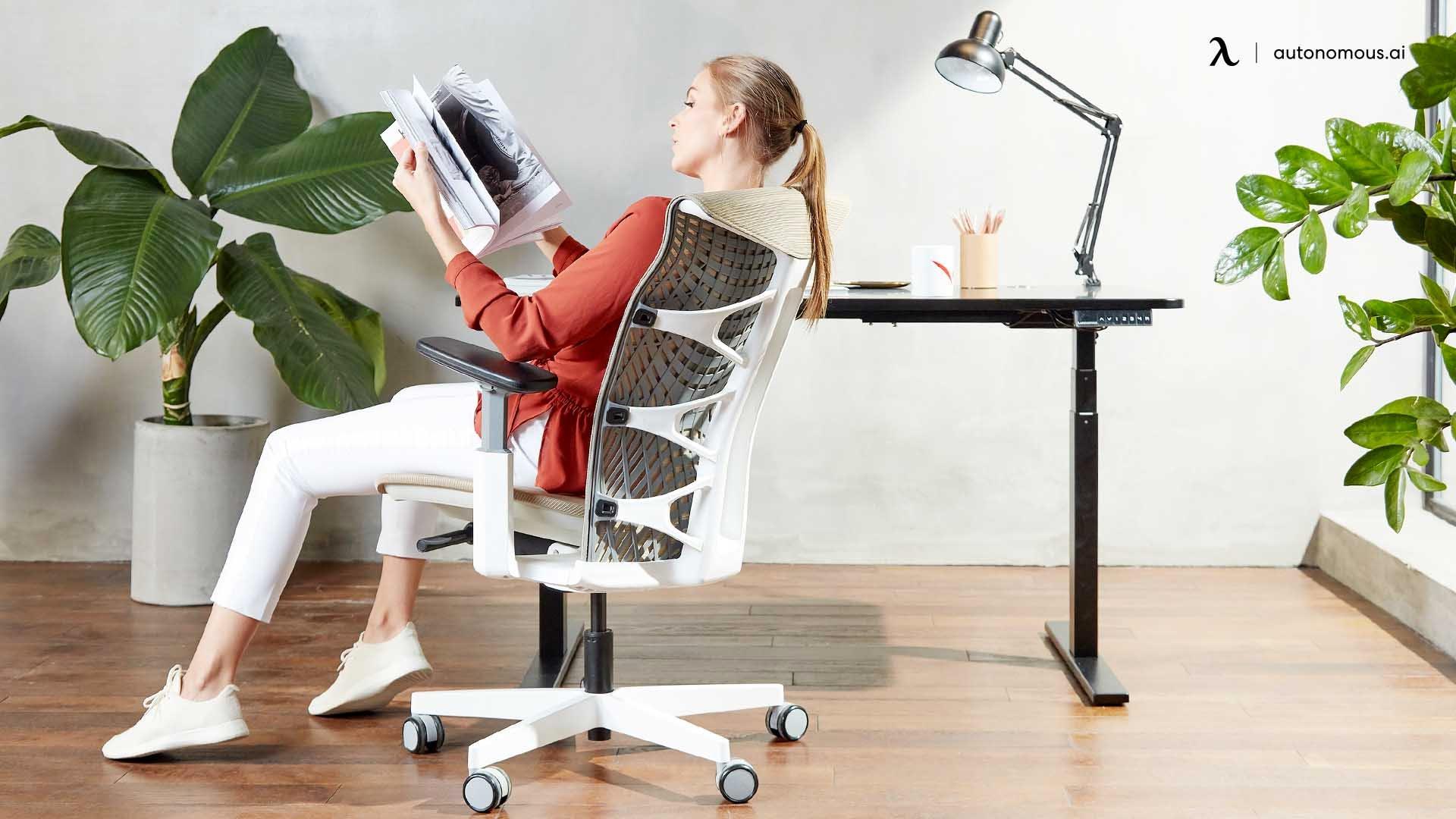 An Ergonomic Desk Chair Height Chart Calculator