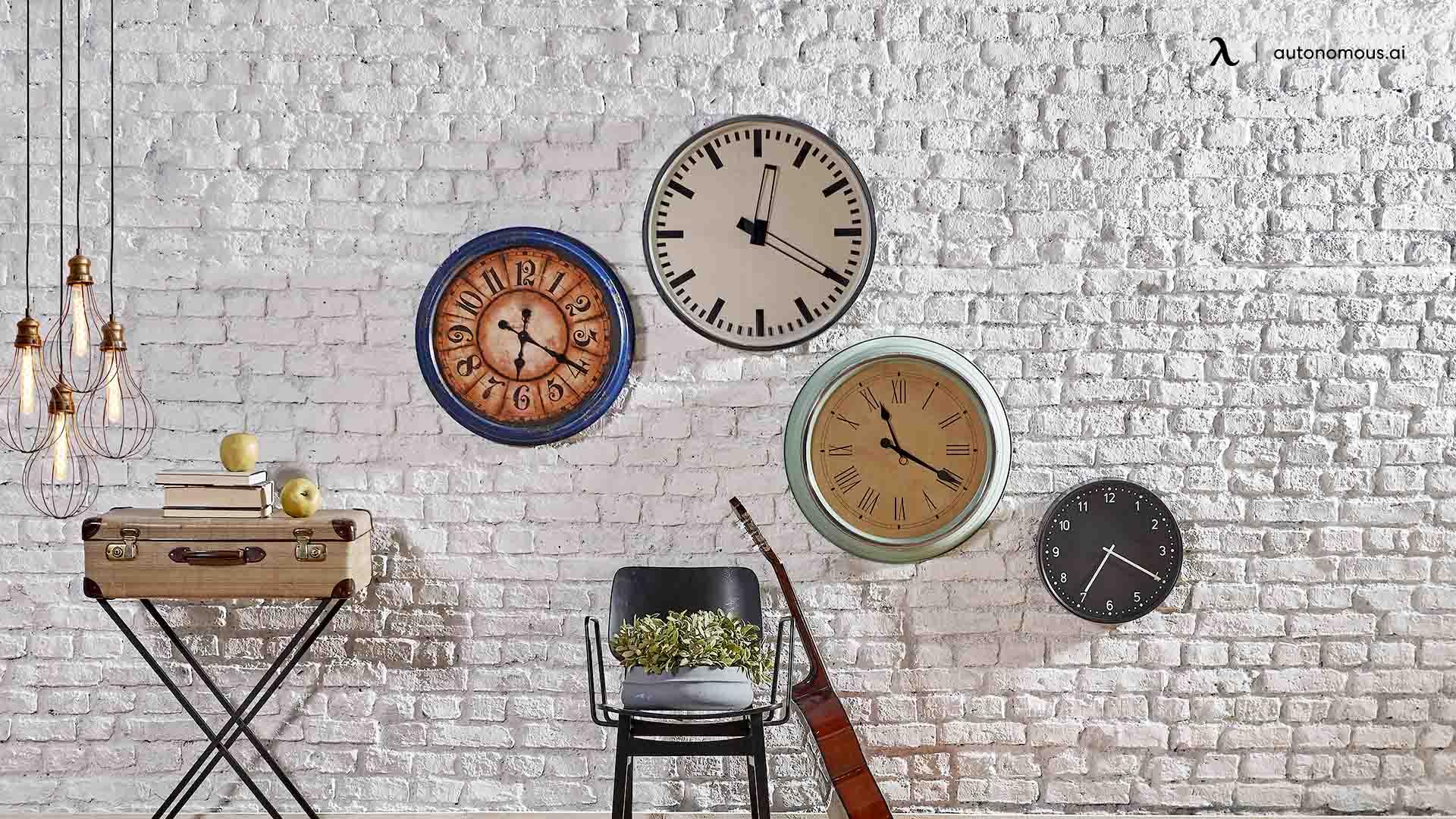Bold and Big Clocks