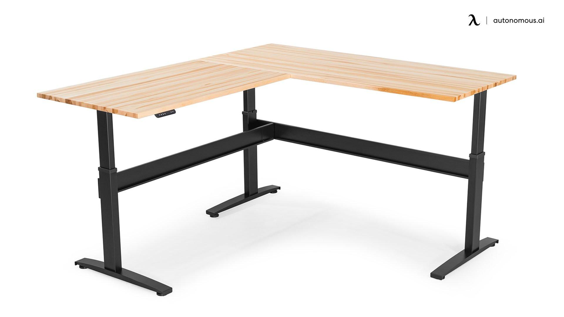 VertDesk V3 L-Shaped Adjustable Desk