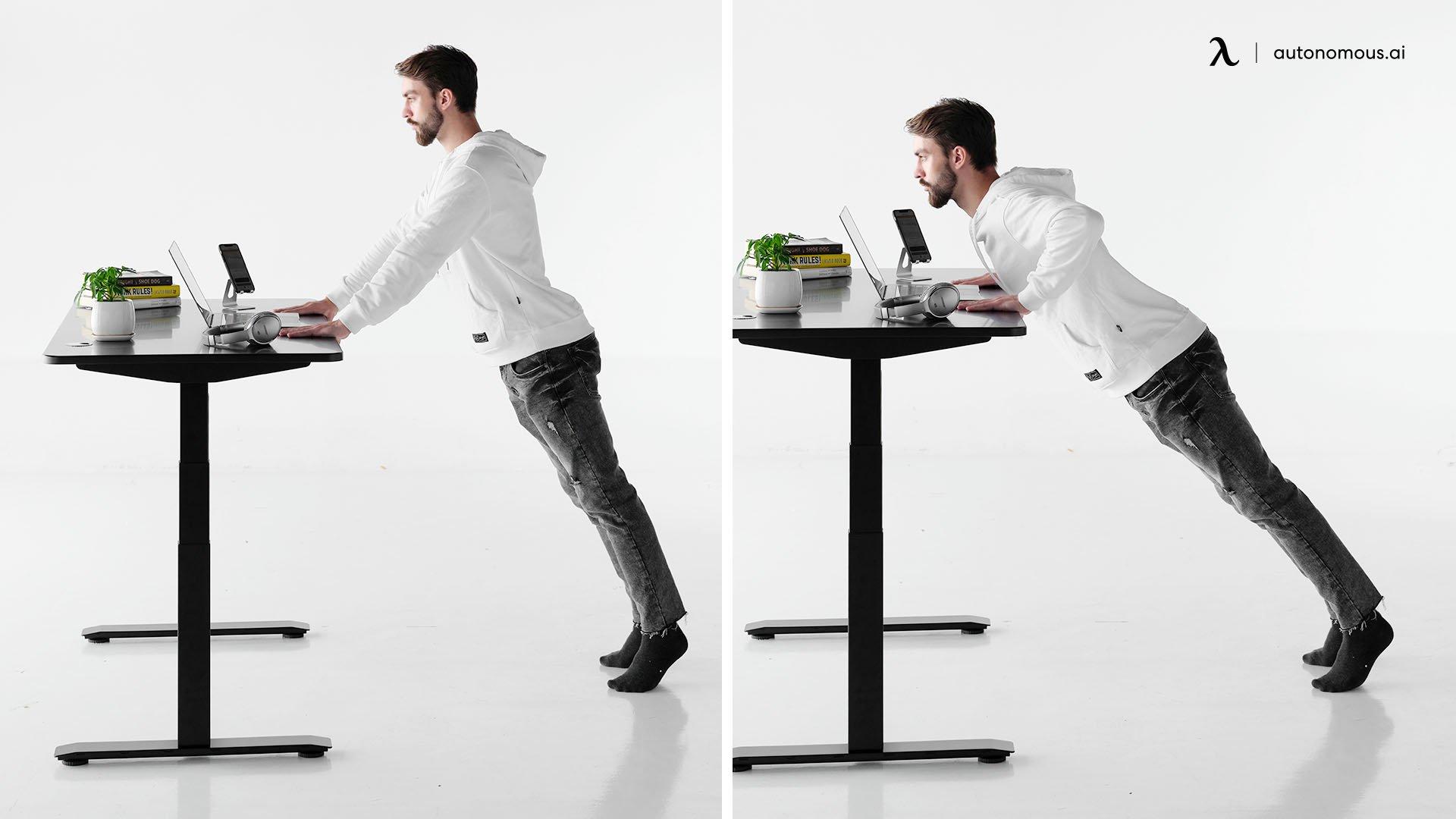 Desk Push-Ups