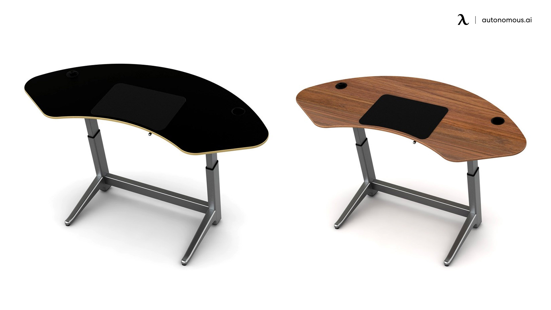 Sphere Standing Desk by Focal Upright Furniture