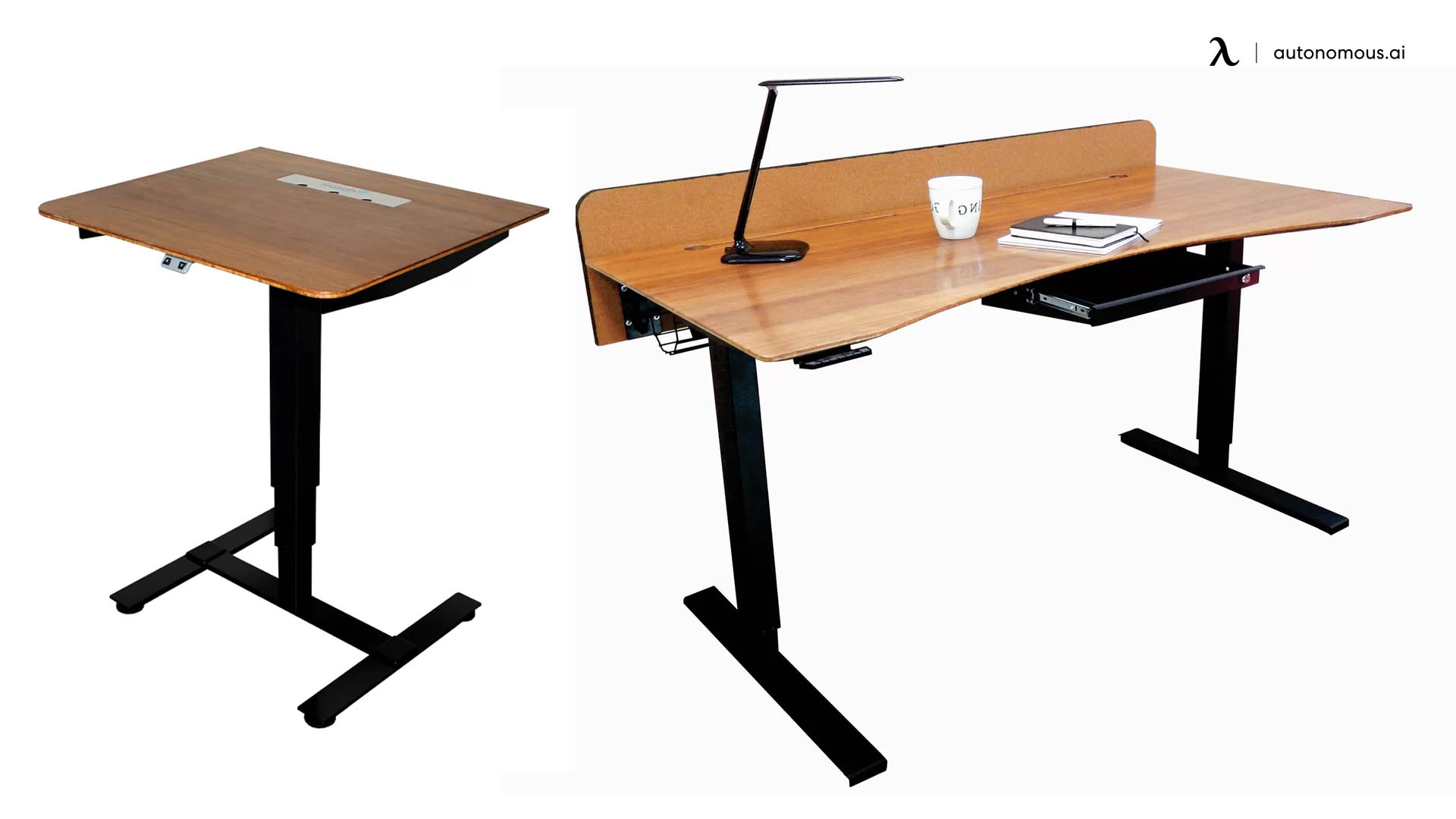 Sit-Stand Electric Portable Desk by Fräsch