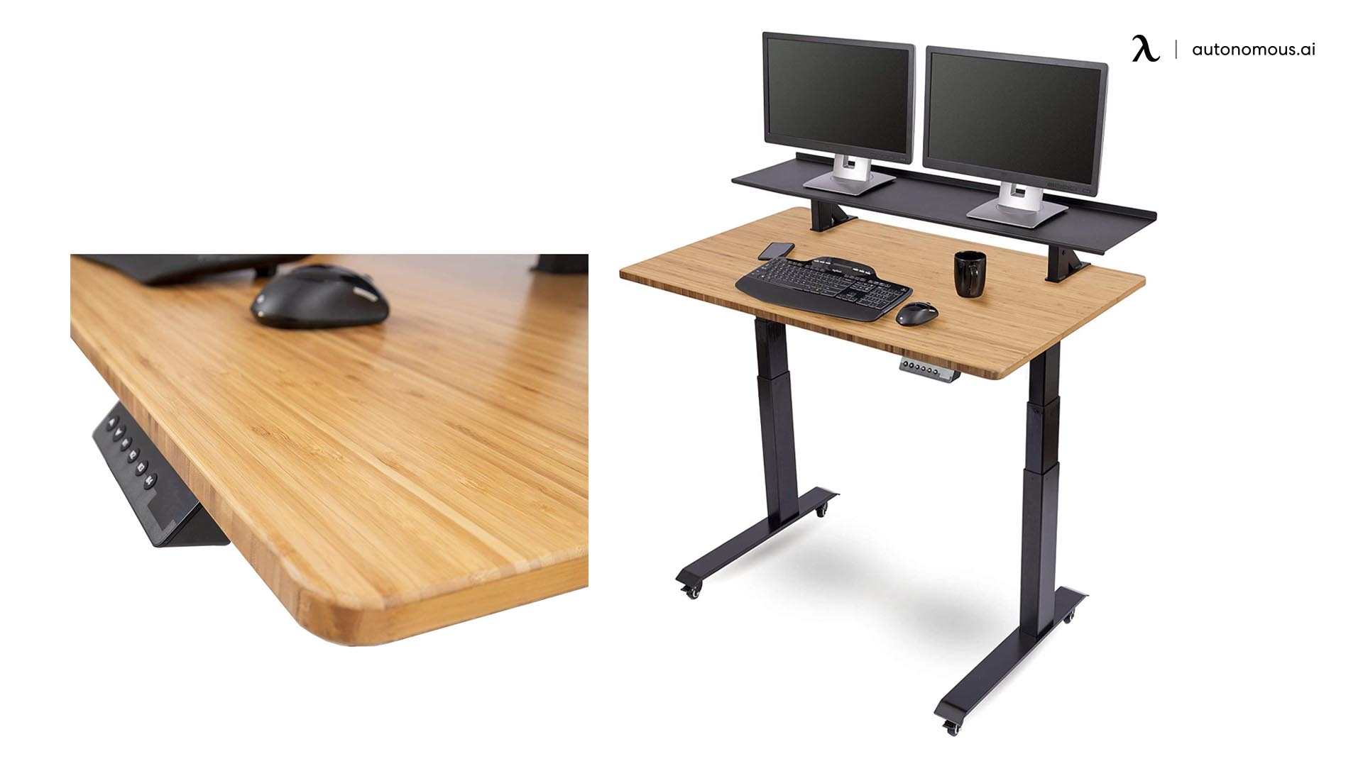 The Split Top Electric Stand Up Desk