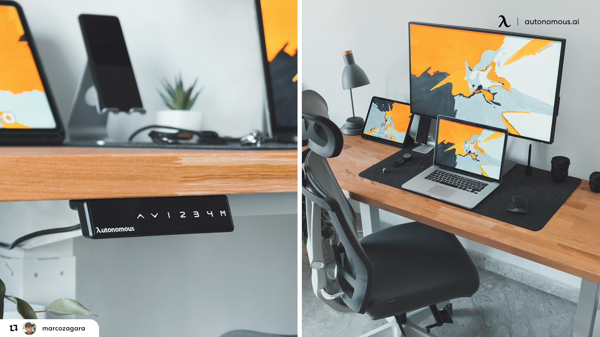 Your Desk and Your Chair