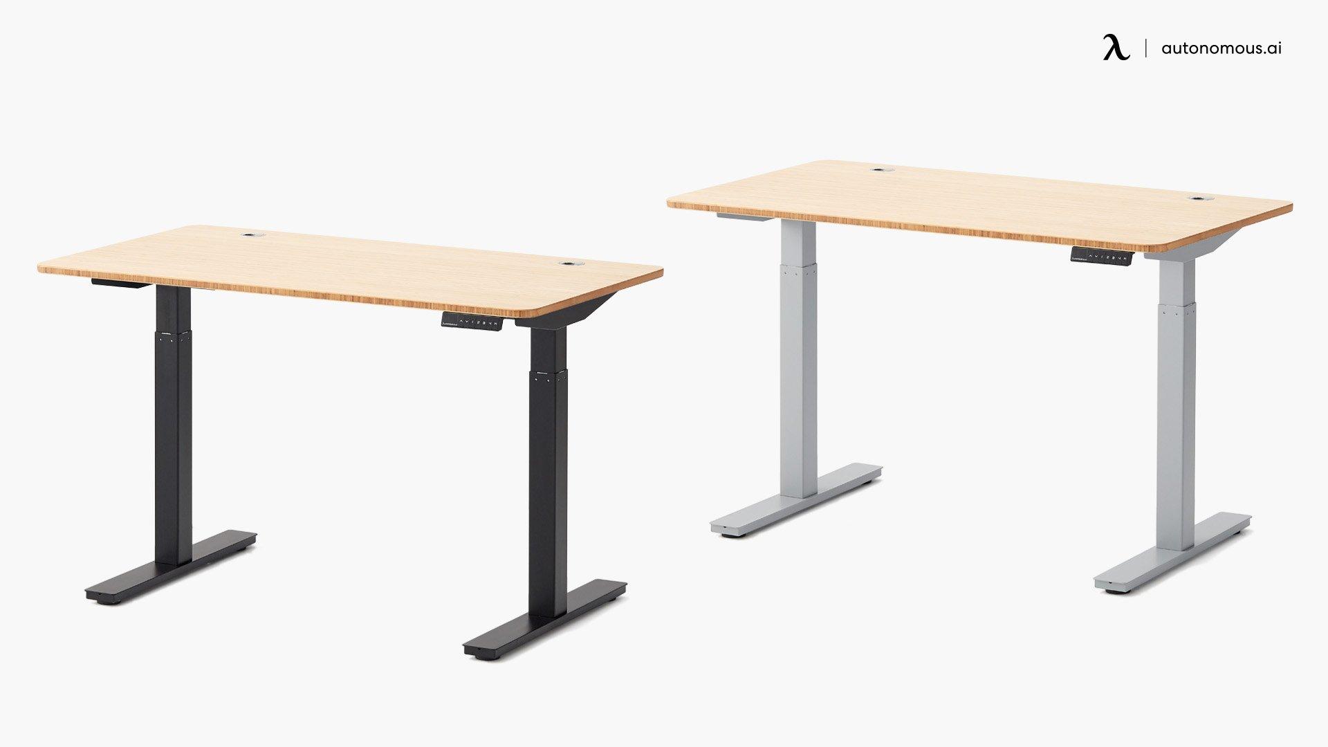 The SmartDesk 2 Bamboo Adjustable Desk