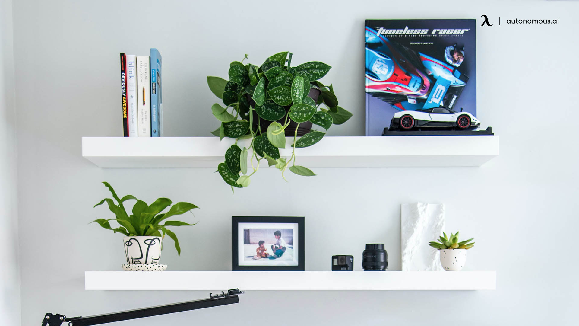 Adding Space for Better Office Organization with Shelves