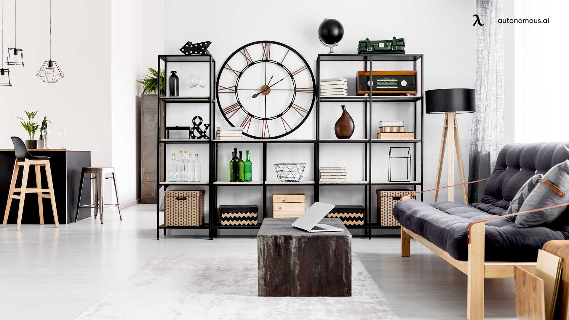 Standalone Shelf Divider