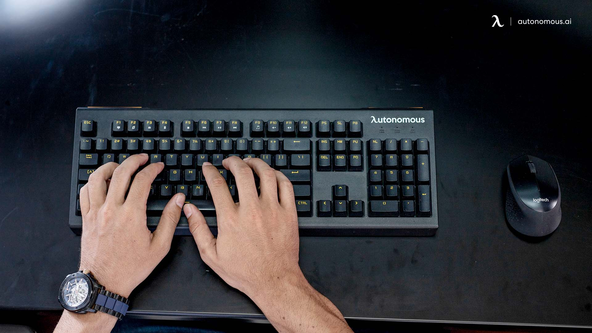 Bring an Ergonomic Keyboard and Mouse