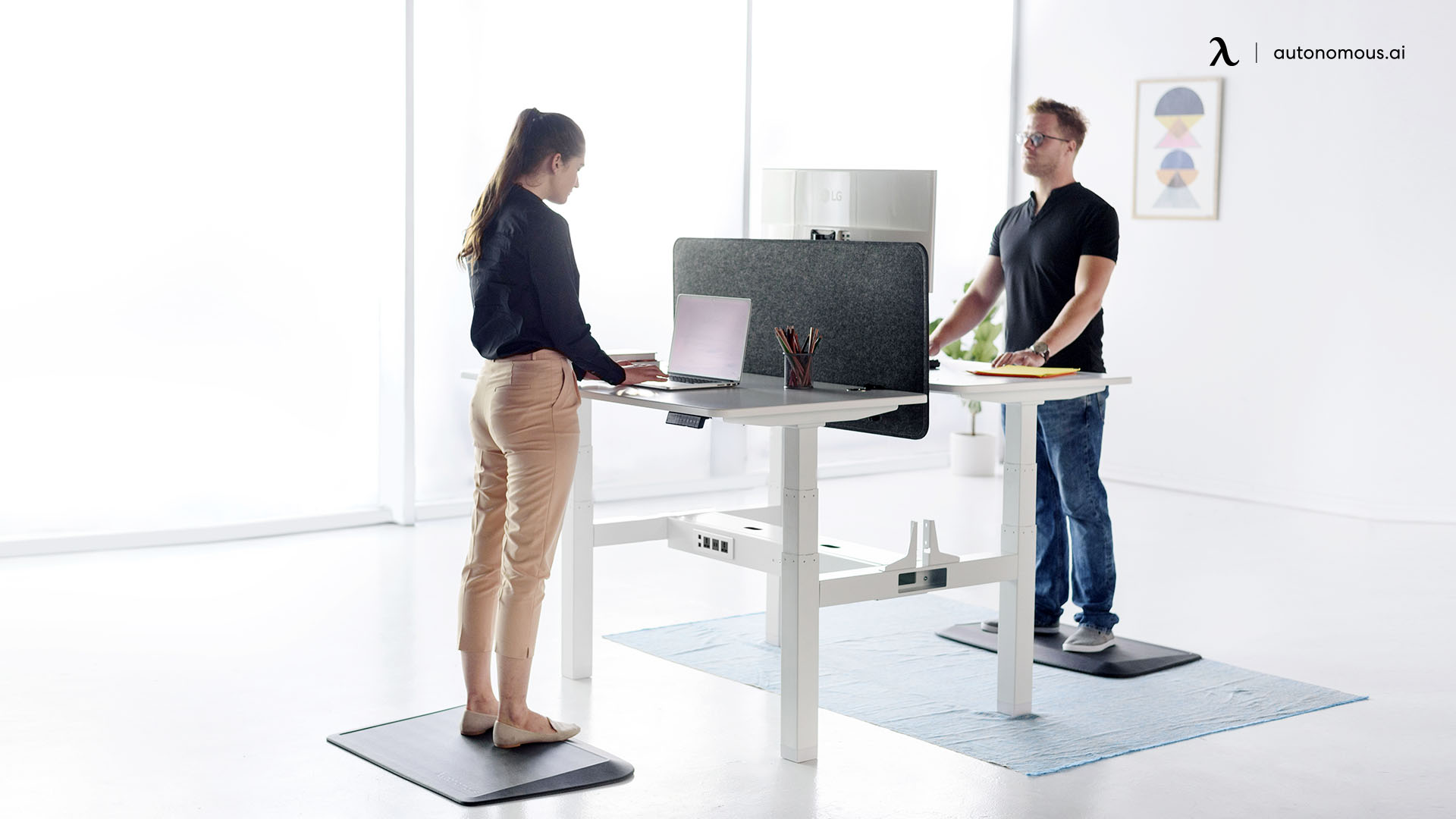 Stand on a Comfortable and Soft Surface