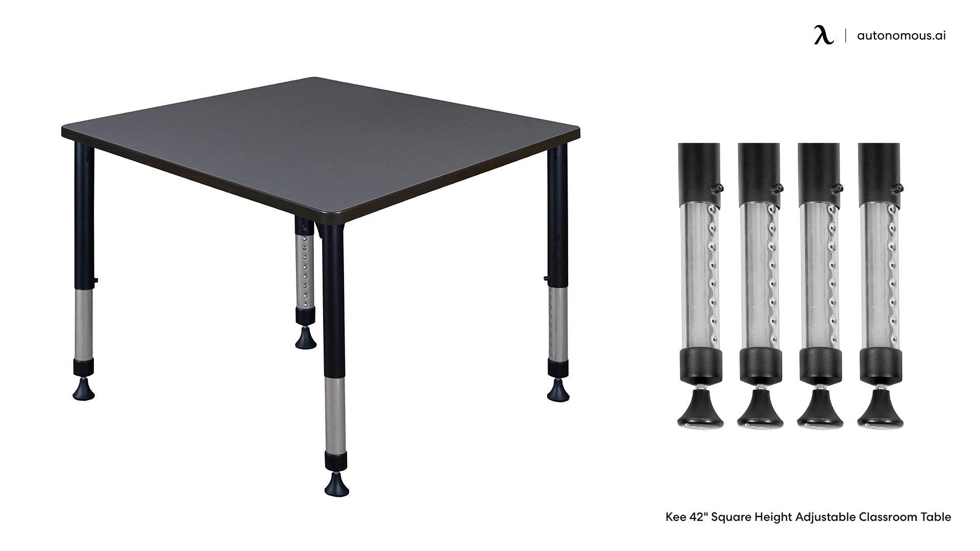 Classic Schoolroom Adjustable Desk Legs