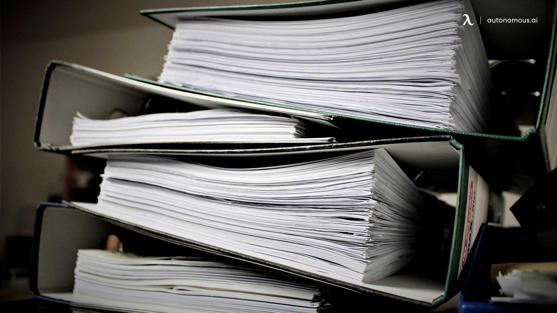 Needs Less Paperwork