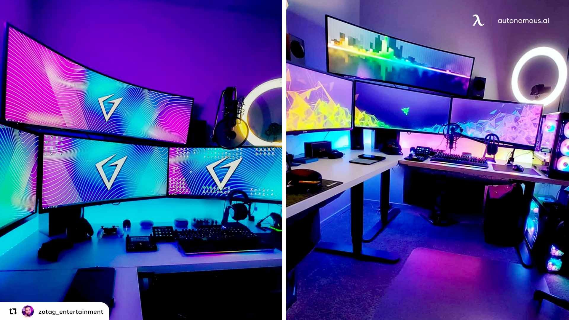 Add Some Vibrant Lights