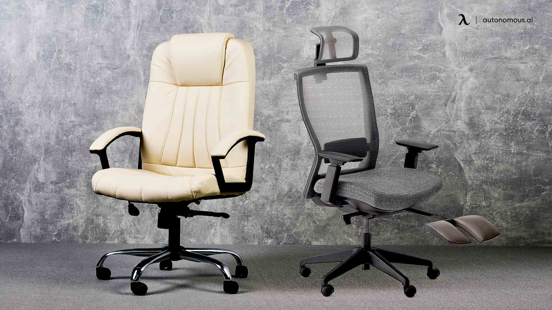 Leather Office Chairs Vs. Mesh Office Chairs
