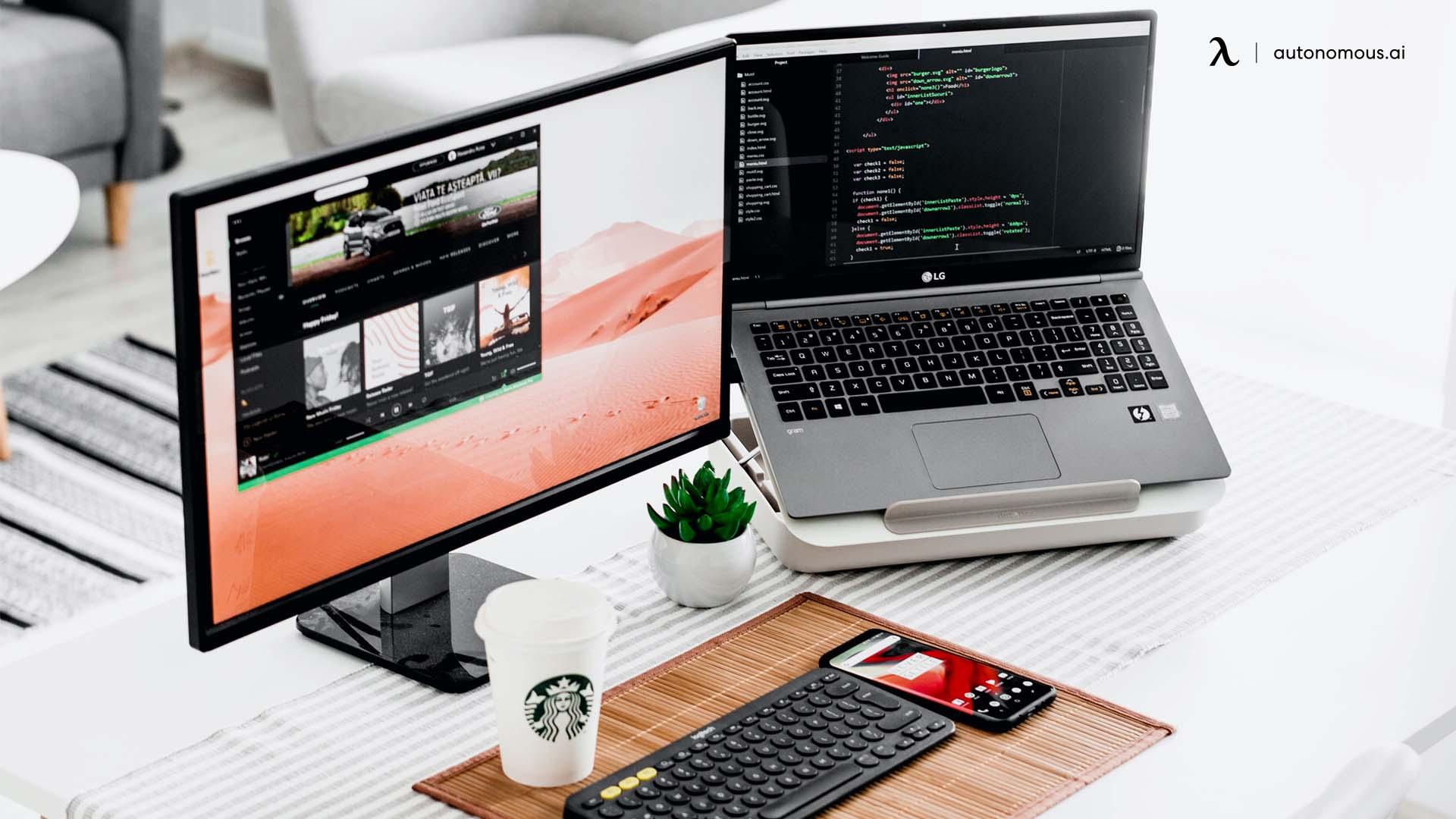 Maintien d'un espace de travail organisé