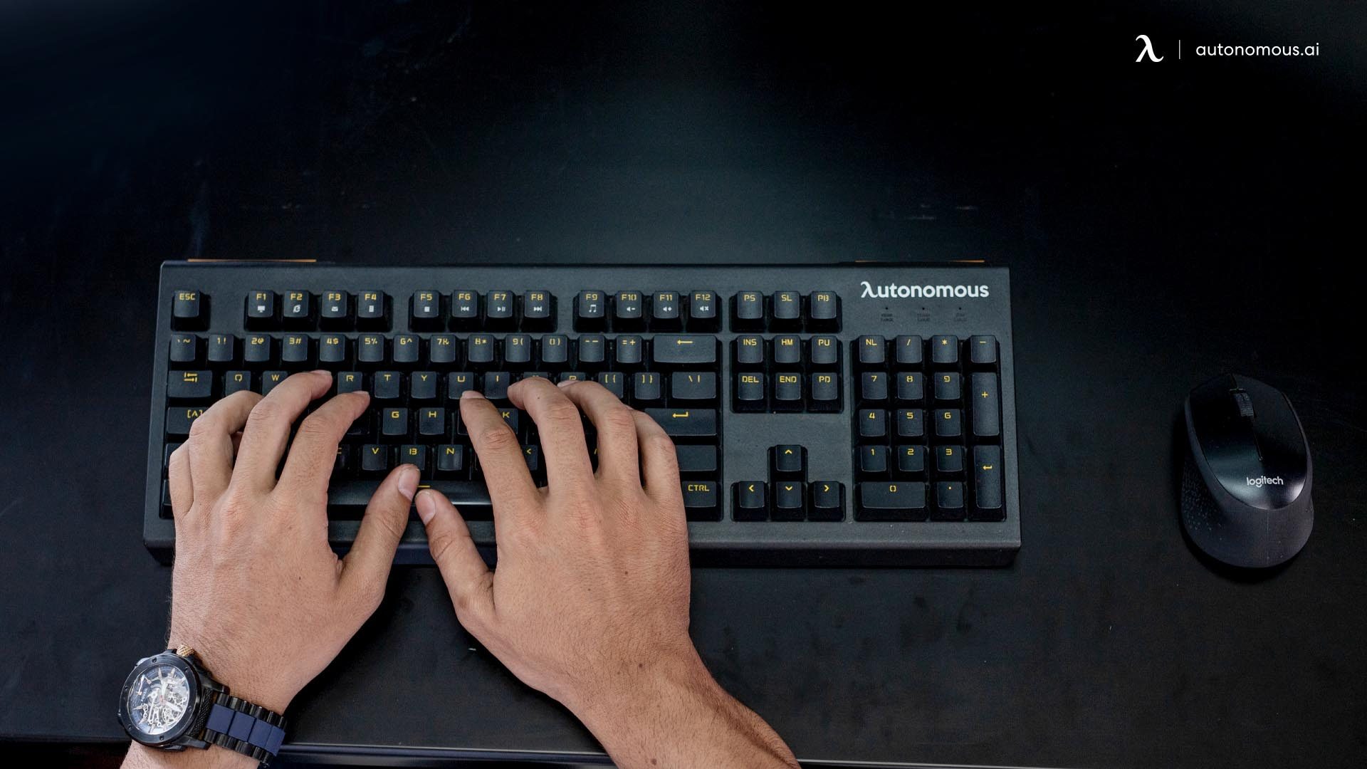 Typing position