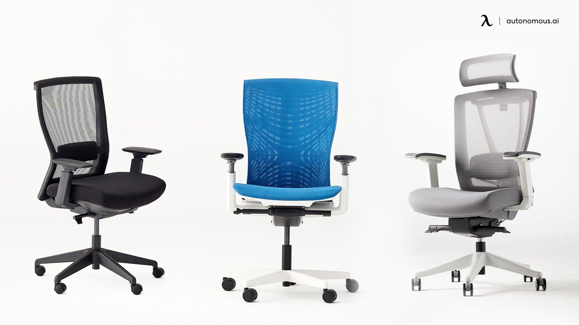 Office chair width
