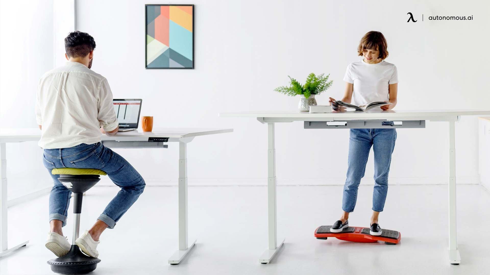 The Optimal Desk Height