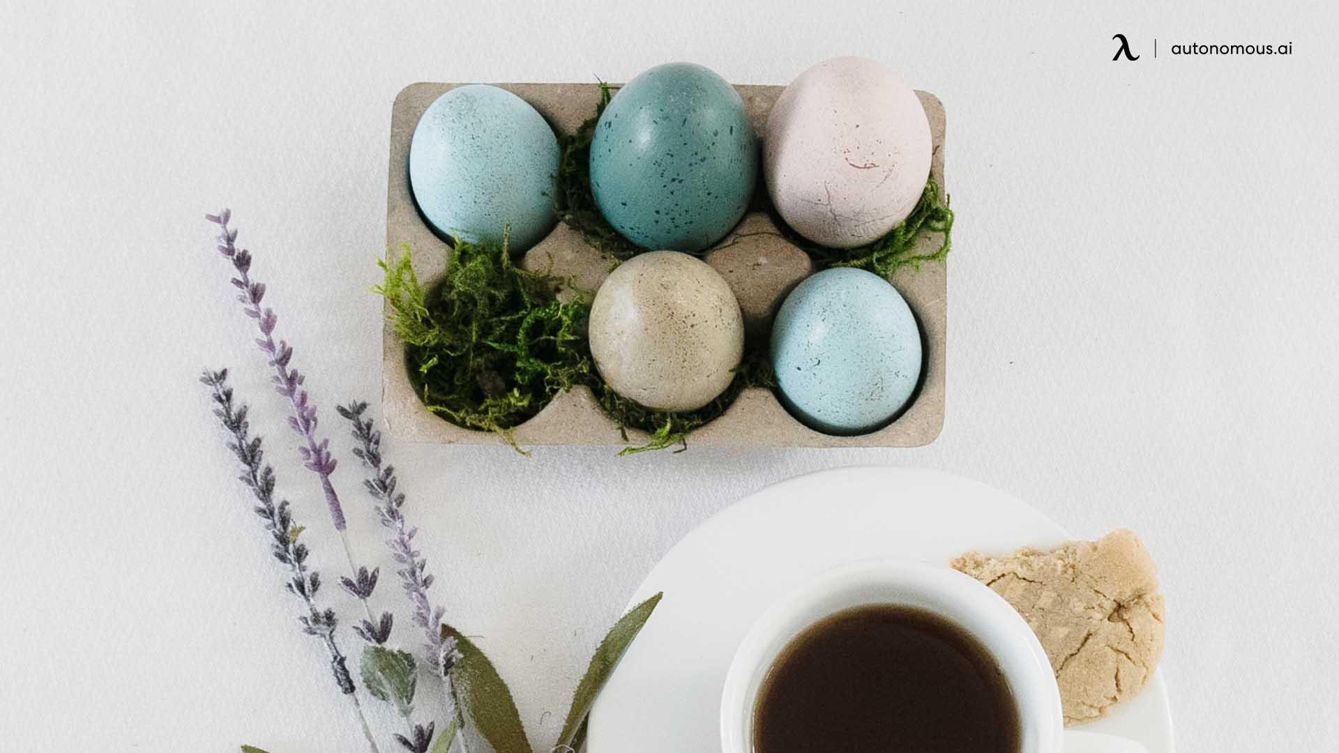 Easter Egg Carton Planters
