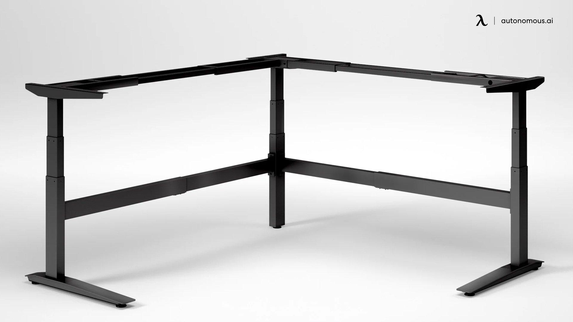 Fully Jarvis DIY L-Shaped Desk Frame