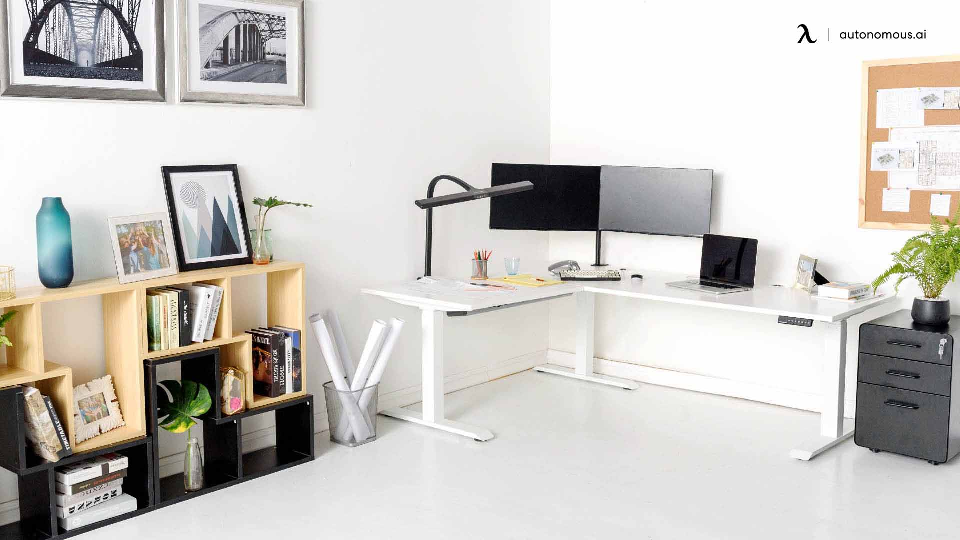How to Make Your DIY L-Shaped Standing Desk Setup