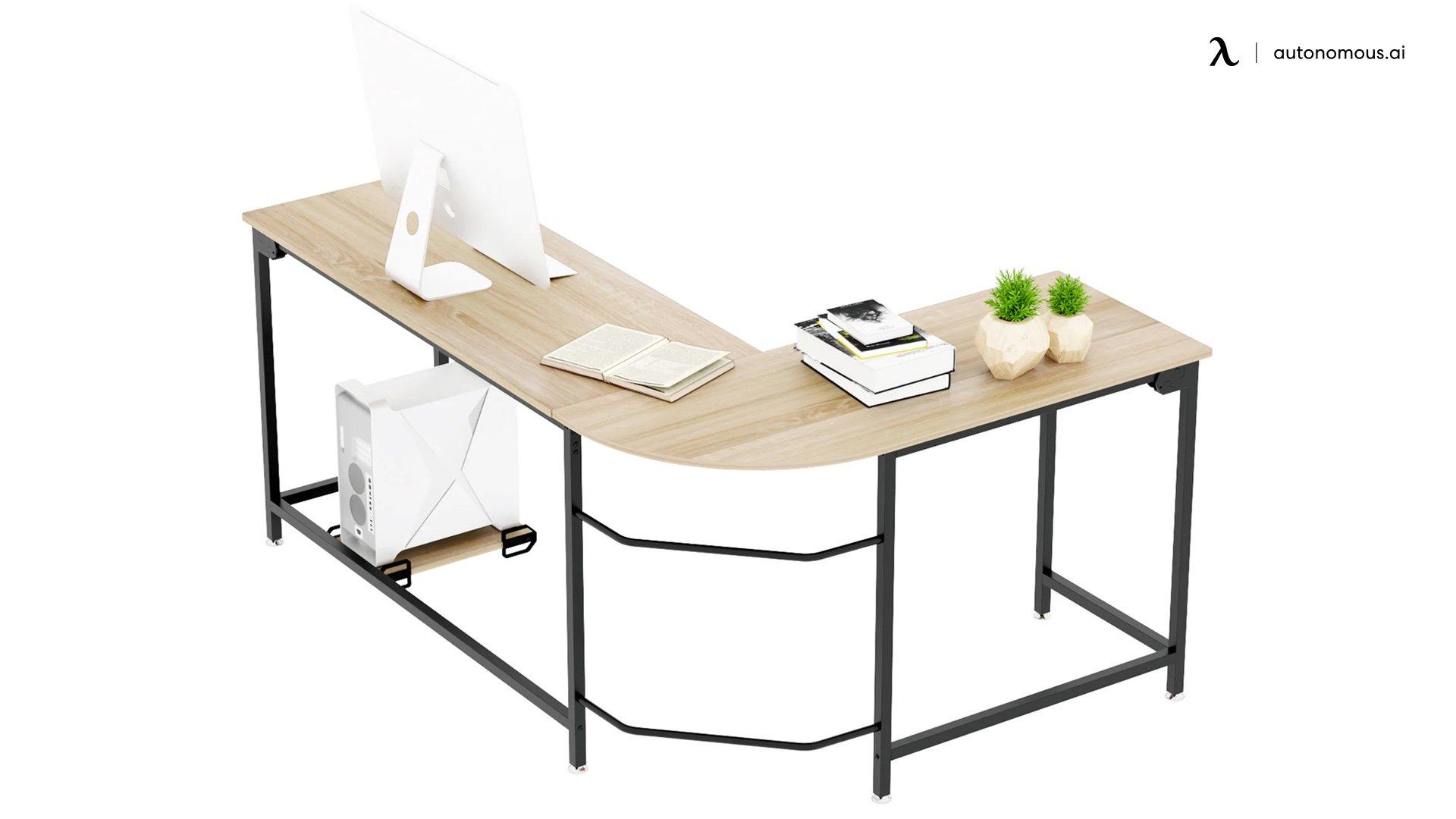 Latitude Run Angelpreet L-Shaped Desk