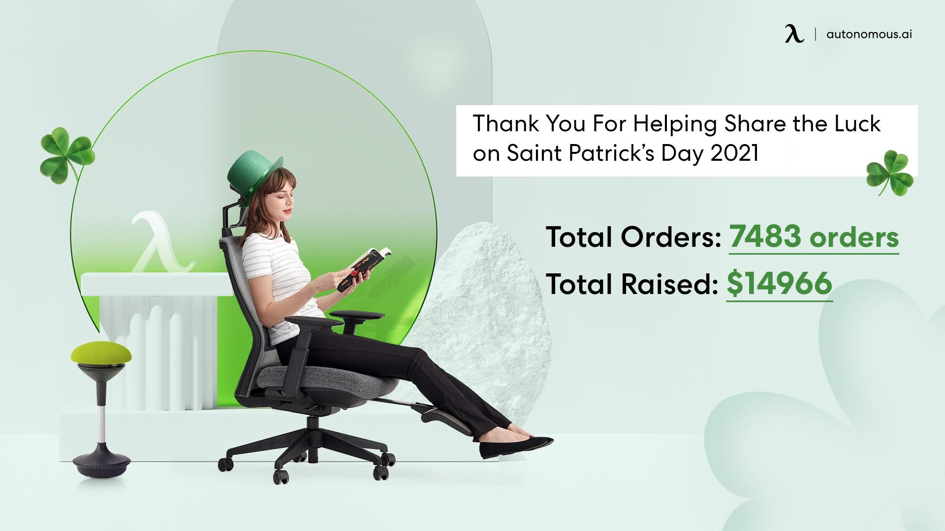 Thank you for sharing the luck on Saint Patrick's Day